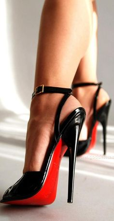 Christian Louboutin Ankle Strap Pumps