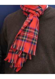 Royal Stewart, embraced by the Bay City Rollers and the Sex Pistols, is actually quite a fancy tartan, cos it's royal.