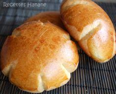 Petits pains au lait moelleux - Recettes by Hanane (pâtisserie - cuisine Marocaine...)