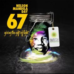 Giving the Gift of Light on Mandela Day