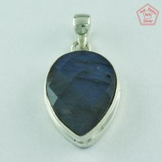 Fashinable 925 Sterling Silver Smoky Quartz Pendant Jewelry P2604 #SilvexImagesIndiaPvtLtd #Pendant