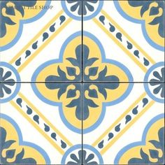 Moroccan Collection - Algeria Cement Tile from Cement Tile Shop