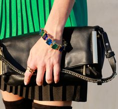 Look how well our C.wonder bracelet goes with this outfit!