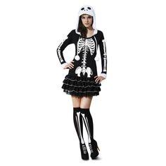 Disfraz de Esqueleto Mujer Sensual #disfraces #halloween