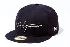 Yohji Yamamoto x New Era 59FIFTY Cap ac9cf9bdd857