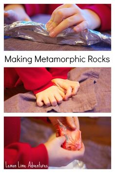 Explore the rock cycle with Starbursts! | 19 Kitchen Science Experiments You Can Eat
