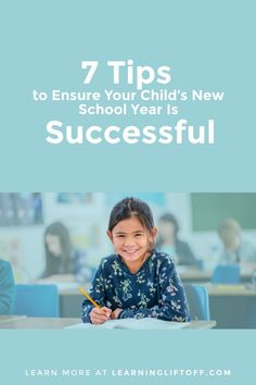 Parents can make some intentional changes to ensure their kids have a successful school year. Try these seven tips with your kids. New School Year, School Days, Back To School, Student Success, Parenting Quotes, School Supplies, Your Child, Books To Read, Parents