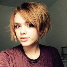 20+ Latest Short Hairstyles for Round Face Shape - Love this Hair