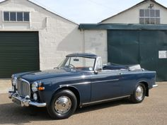 1963 - Rover P5 3.0 Convertible  Maintenance/restoration of old/vintage vehicles: the material for new cogs/casters/gears/pads could be cast polyamide which I (Cast polyamide) can produce. My contact: tatjana.alic@windowslive.com