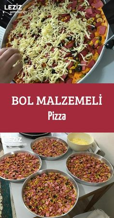 Bol Malzemeli Pizza Homemade Beauty Products, Pizza Party, Pizza Hut, Iftar, Chili, Health Fitness, Food And Drink, Soup, Beef