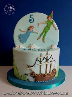 Stunning Peter Pan cake