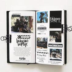 February Traveler's Notebook by mamaorrelli at Studio Calico