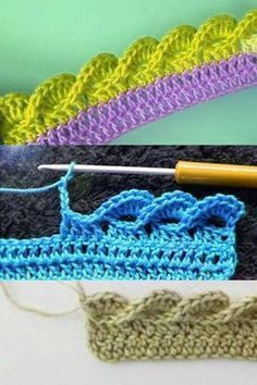 Crochet Gifts - Crochet How to crochet doily Part 1 Crochet doily rug tutorial - Háčkování # double crochet stitch Crochet Afghans, Crochet Blanket Edging, Crochet Doily Rug, Crochet Borders, Crochet Stitches Patterns, Love Crochet, Crochet Gifts, Double Crochet, Easy Crochet