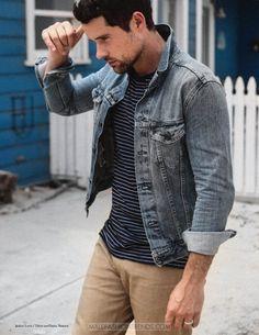 Male Fashion Trends: Benjamin Hollingsworth por Colin Stark para Man of Metropolis