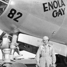 Avion enola gay muerte