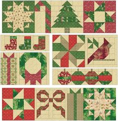 Christmas Tree Quilt, Christmas Patchwork, Christmas Quilt Patterns, Christmas Sewing, Christmas Quilting, Barn Quilt Designs, Barn Quilt Patterns, Patchwork Quilt Patterns, Quilting Designs
