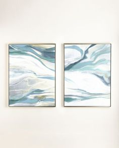 """Style Your Home Today With This Amazing """"Cream Dream"""" Two-Piece Giclee Set Framed Wall Canvas Painting For $2620.00  Discover more canvas selection here http://www.octotreasures.com  If you want to create a customized canvas by printing your own pictures or photos, please contact us."""