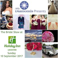 By @the_bridal_show_leicester  Proud to announce @aeldiamonds to be HEAD LINE sponsors of Our Next Wedding Show : Sunday 10 September 2017 @ Holiday Inn Leicester LE1 5LX .... #savethedate #wedding #weddingdress #bride #bridetobe #leicester #lmdevents #holidayinn #holidays #bridesmaids #groom #cakes #weddingbells @holidayinn @holidayinnexpress #holidayinnexpress #leicestermercury #diamonds #photograpgy #photobooth #music #food #party #girls #bridesmaids #bridesmaidhairstyle
