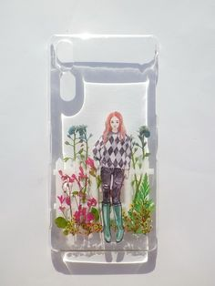 Annys workshop, Pressed flower phone case, Sony Xperia Z2