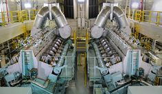 MAN Diesel - Project: 3 turnkey diesel power plants for EDF - Case Study Diesel Engine, Case Study, Photo Editing, Engineering, Rooms, Generators, Project 3, Stock Photos, Big