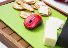 Looks like a mouse got the cheese. ;)