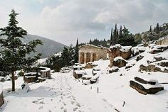 The Treasure of Athenians at Delphi!!