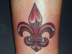 fleur de lis tattoo - Google Search