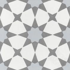 Villa Lagoon Tile Taza x Cement Field Tile in White/Silver Marble Mosaic, Mosaic Tiles, Wall Tiles, Cement Tiles, Mosaics, Art Deco, Shower Floor, Reno, Decorative Tile