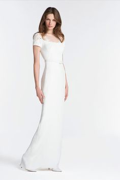 Reem Acra Resort 2014 Collection Slideshow on Style.com