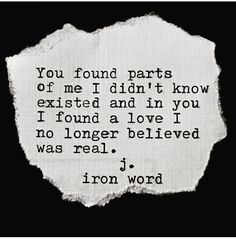 I found a love I no longer believed was real.