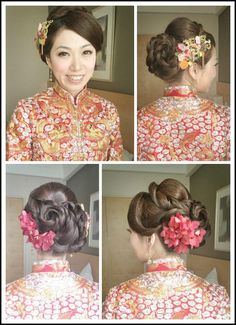 Bridal in chinese traditional style