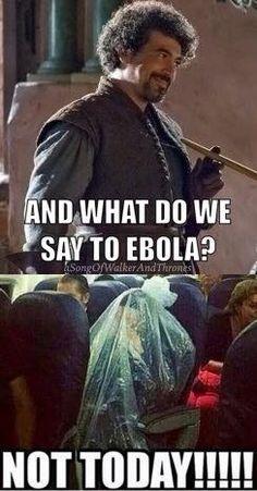 Game of Thrones / ebola funny meme