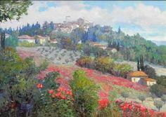 Kent Wallis Exquisite Panzano - Southwest Gallery: Not Just Southwest Art.