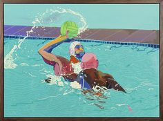 Andy Dixon's paintings contemplate the self-indulgence of leisure and art.