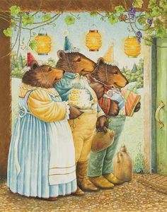 PARTY BEARS BY LYNN BYWATERS