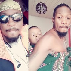Fatherly goals see heart melting photo of actor Junior pope backing his son. Celebrity Gist, What Is It Called, The Absence, Heart Melting, Bikini Photos, Little Boys, Seo, Advice, Goals