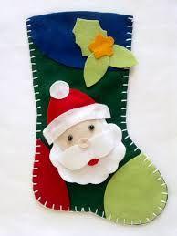 55 Moldelos de Botas de Natal em Feltro