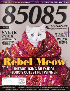 The May cover of 85085 Magazine  Produced by The Media Barr, Inc.   Photo by Shannon Fisher Photography www.themediabarr.com www.85085magazine.com
