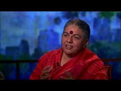 Vandana Shiva on the Problem with Genetically-Modified Seeds - YouTube ttps://www.youtube.com/watch?v=fG17oEsQiEw Bill Moyers talks to scientist and philosopher Vandana Shiva, who's become a rock star in the global battle over genetically modified seeds.
