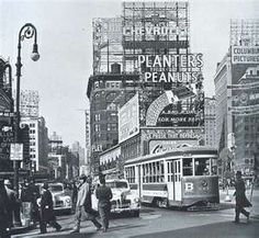 New York City trolly 1940's