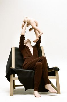 Simple Life: Hanna Putz Takes on Fall's Bold Minimalism. Hermès cashmere jumpsuit.