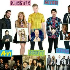 Pentatonix collage <3