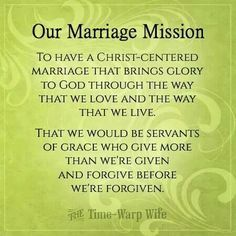 Jesus Quotes About Marriage | Marriage Mission - To have a Christ centered marriage that brings ...