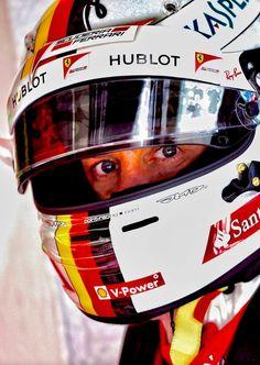 Sebastian Vettel wins the Another helmet to retire. Guy Sebastian, Statues For Sale, Ferrari F1, F1 Racing, Formula One, Honda, Helmet, Track, Art Deco