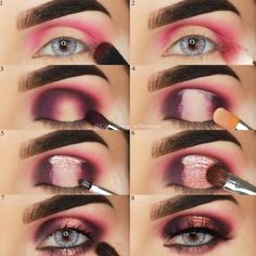 Eyeshadow Tutorial For Beginners picture 2 make up for beginners Ultimate Guide to Choosing and Applying Eyeshadow Properly: Tips and Tricks Beauty Make-up, Beauty Makeup Tips, Makeup Tricks, Makeup Inspo, Makeup Inspiration, Beauty Hacks, Makeup Ideas, Beauty Care, Makeup Geek