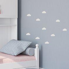 Wandtattoo - Wolken Wandsticker 7cm ☁ - ein Designerstück von lovelybird bei DaWanda