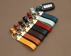 Personalized Leather key ring holder V2 by navico