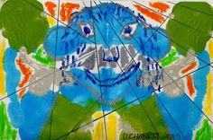 Outsider Inner Child  Mixed Media by CharestStudios on Etsy, $15.00