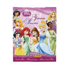 Disney Princesses Sticker Collections! Organize all of your stickers in the official sticker album and on the back of every sticker is the number that will tell you where it goes. Get your friends collecting and race to see who can fill their album first!