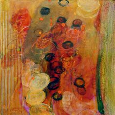 Leslie Kenneth Price garden abstract series of paintings
